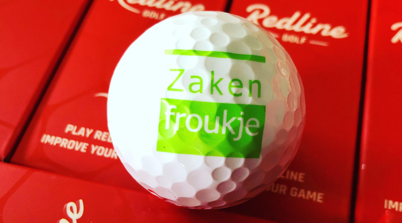 Zakenfroukje Golfbal